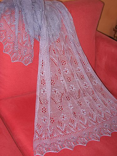 Knit Butterfly Stitch Scarf : Best 358 Knitting Scarf, Shawl, and Cowl Patterns images on Pinterest Desig...