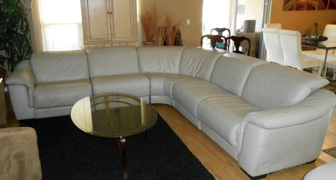 power reclining dove grey leather ship anywhere modern list sectional natuzzi sofa sets sale couch scratch repair