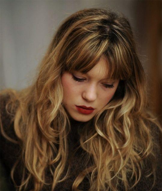 "seydouxdaily: "" Léa Seydoux in Time Doesn't Stand Still, 2011 """