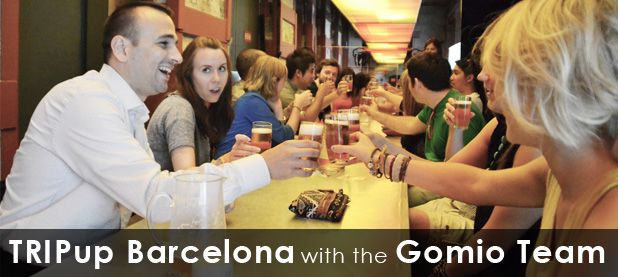 We love traveling the social way and meeting locals - and we don't just say it, we do it!     The GoMio Team joined last week the first TRIPup Event in Barcelona at the Factory Moritz Brewery. Here's our first-hand experience using Triptrotting to travel the social way! Check it out at http://www.gomio.com/blog/index.php/tripup-barcelona-with-the-gomio-team/: First Hands Experiment, Tripup Events, Factories Moritz, Team Joining, Meeting Local, Local Travel, Gomio Team, Moritz Brewery, Travel Movement