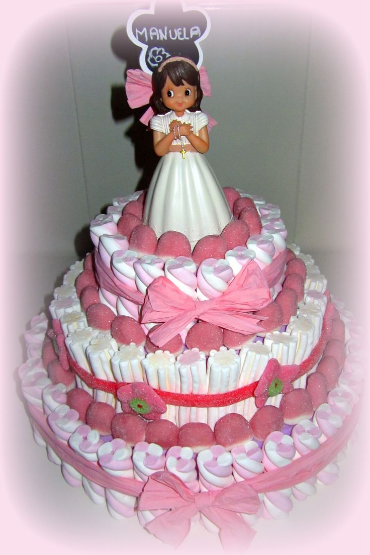 Tarta de chuches - Candy cake - Gâteau de bonbons - Snoeptaart - #Comunión