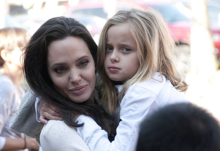 """Angelina and daughter Vivienne at the Telluride Film Festival 2017 to introduce Angelina's film, """"First They Killed My Father"""""""