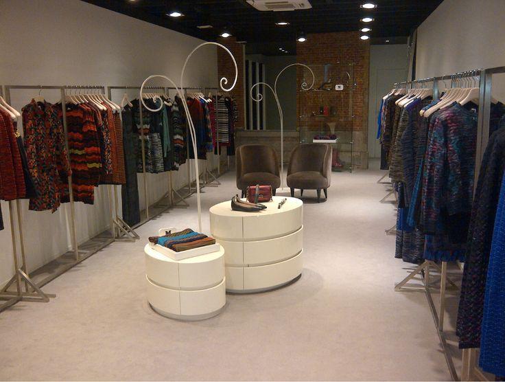 #MMissoni | Pop Up Store | #Antwerp | Winter 2013 Collection