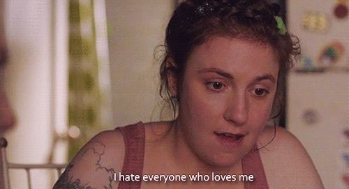 "The 23 Most Relatable Hannah Quotes From ""Girls"" love love LOVE this show"