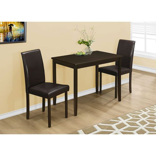 Best 25 3 Piece Dining Set Ideas On Pinterest  Counter Height Captivating Three Piece Dining Room Set 2018