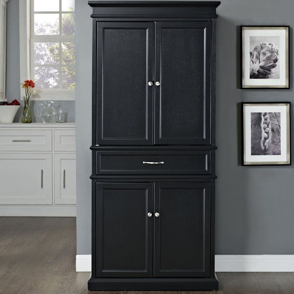 Alcott Hill Garlock 72 Kitchen Pantry Reviews Wayfair Pantry Storage Cabinet Kitchen Pantry Storage Cabinet Freestanding Kitchen