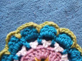 My world of crochet: Tagesdecke Nr. 6 Tutorial