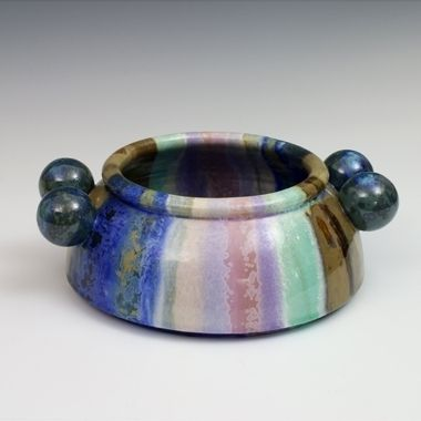 Kate Malone: Colour Wheel Atomic Bowl