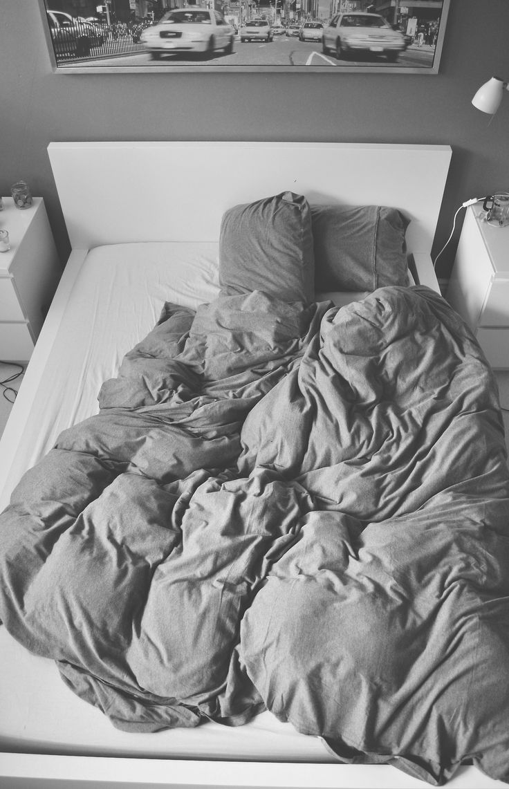 Black bed sheets tumblr - My Bed Exactly How I Left It This Morning