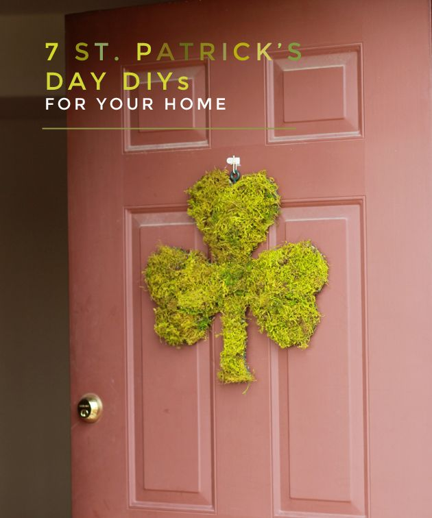 St patrick s day decorations st patricks day pinterest st for St patricks day decorations for the home