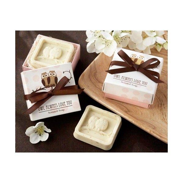 Jabon aromático de Buhos en caja de regalo