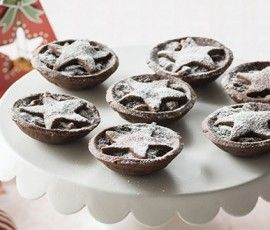 Chocolate Fruit Mince Tarts