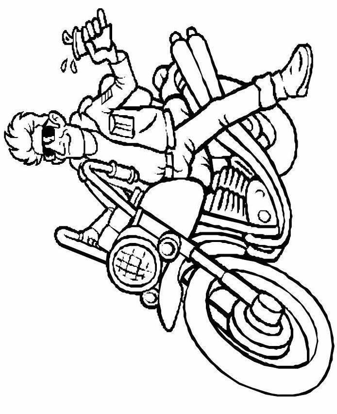 Moto harley dessin recherche google a imprimer motos - Coloriage motos ...