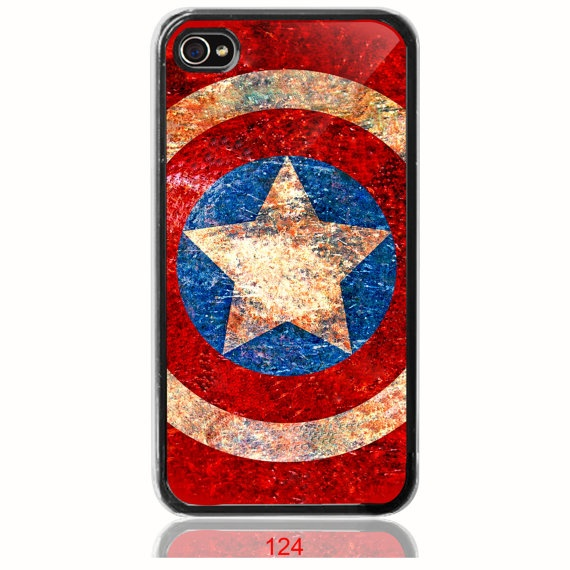 Vintage Captain America phone case... I NEED THIS.