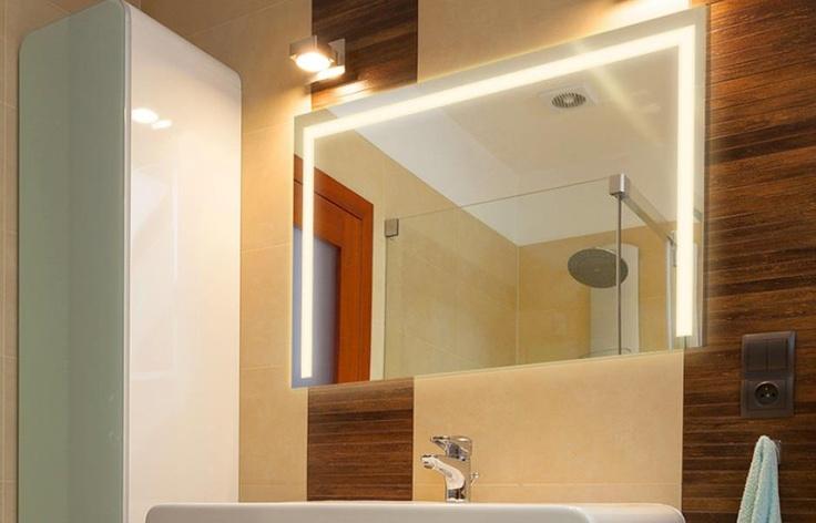 Badspiegel Mit Led Beleuchtung Nach Mas : ... Badspiegel Led en Pinterest  Lichtspiegel, Badspiegel y Baldosas De