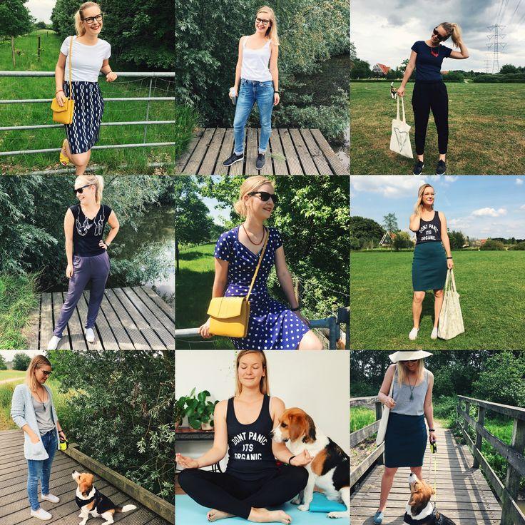 Inspiration: 10 x Eerlijke zomer-outfits uit mijn capsule wardrobe // fair & sustainable fashion