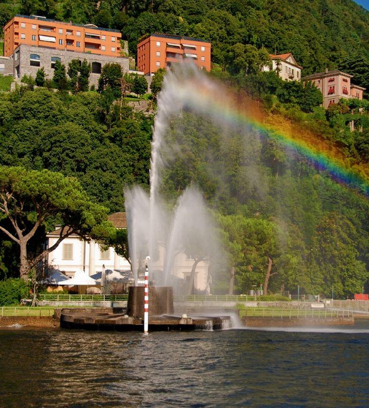 Fontana di Villa Geno | Como #lakecomoville