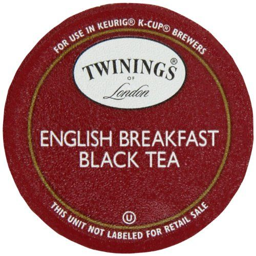 Twinings English Breakfast Tea, K-Cup Portion Pack for Keurig K-Cup Brewers, 24-Count Twinings http://www.amazon.com/dp/B002HQCWYM/ref=cm_sw_r_pi_dp_D0Liub0HVBBPY