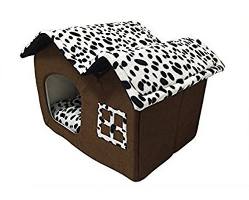 Folding Dog House Dog Bed – PawzOutlet