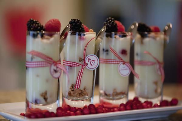 yogurt parfait shooters