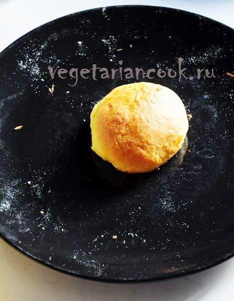 Vegetariancook: Воздушные тыквенные веганские булочки