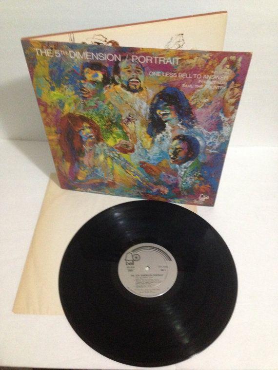 The 5th Dimension Portrait Vintage Vinyl Record Album 1970 Bell Records Division of Columbia Pictures 6045 Gatefold Album Cover Jacket by NostalgiaRocks