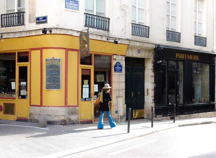 On Rue de L'Abbaye, Saint Germain © TrésorParisien