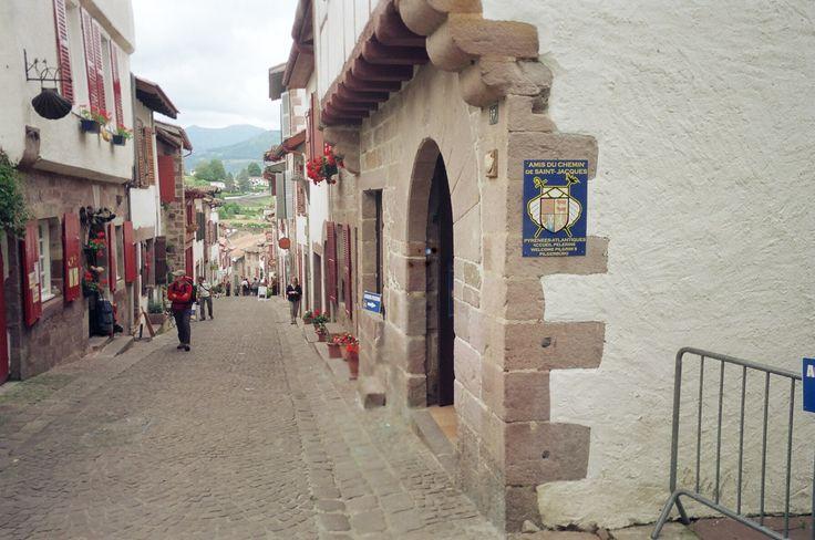 The albergue in st jean pied de port a walk i will take the camino de santiago de - Saint jean pied de port albergues ...