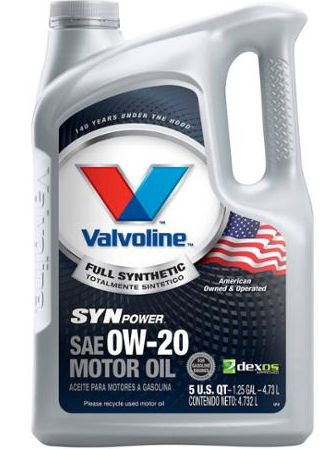 Kmart clearance Valvoline SynPower 0W-20 5 gal. @ $3.50 GIANT YMMV #LavaHot http://www.lavahotdeals.com/us/cheap/kmart-clearance-valvoline-synpower-0w-20-5-gal/59853