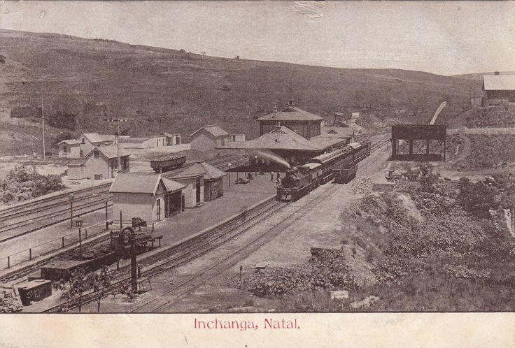 Inchanga Railway Station sometime between 1894 and 1897.