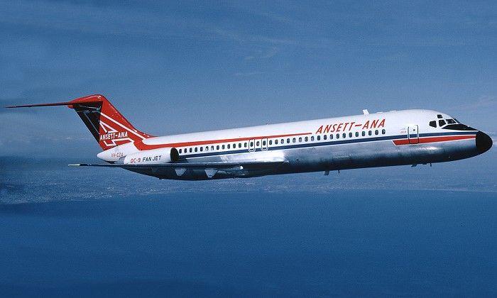 Ansett McDonnell Douglas DC-9-30 (VH-CZA)