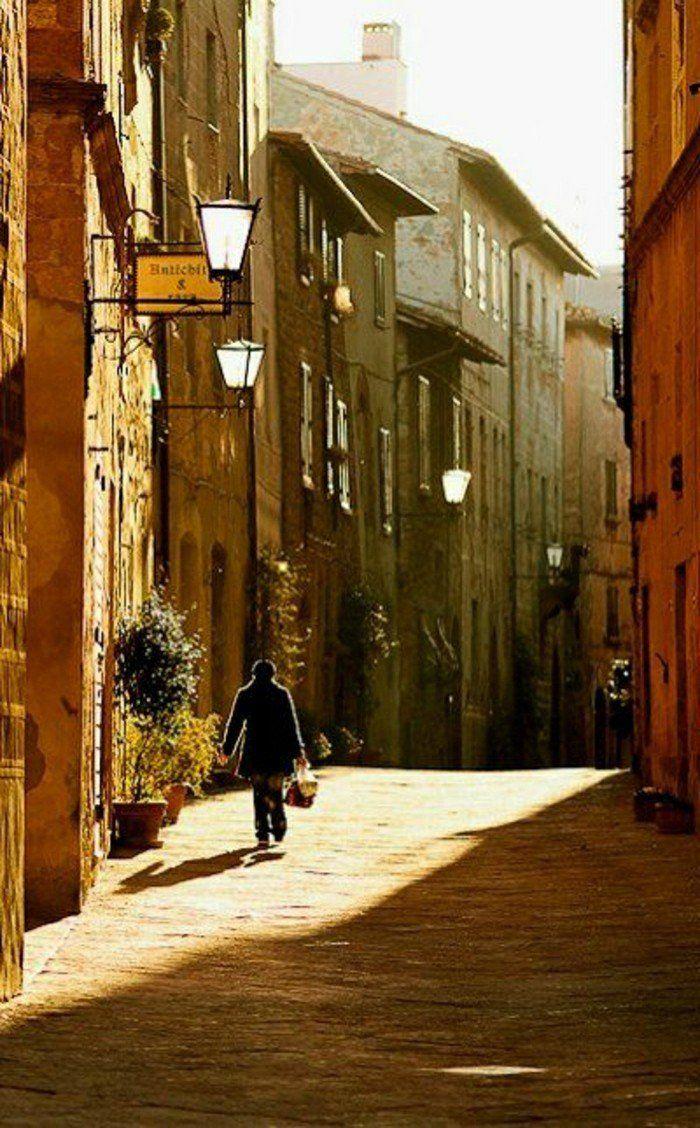 visiter la toscane, les rues italiennes, agritourisme toscane