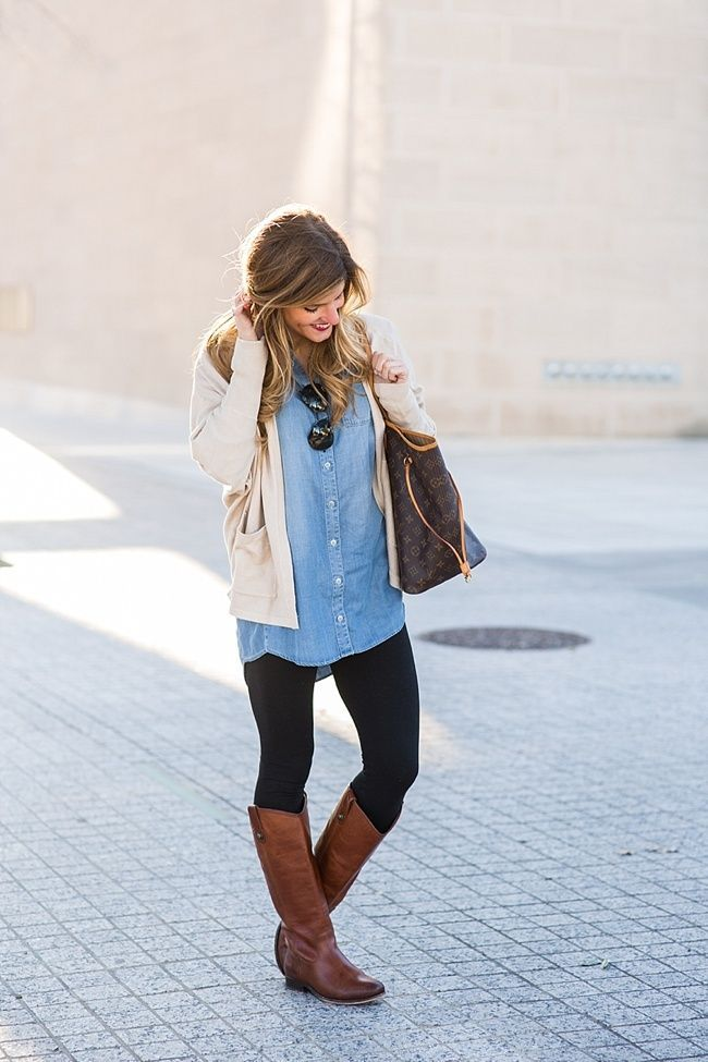 Oversized Chambray is My Jam