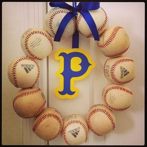 My latest craft project #baseball #crafting