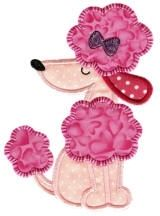 Crazy Poodle Applique - 4 Sizes! | Tags | Machine Embroidery Designs | SWAKembroidery.com Designs by Juju