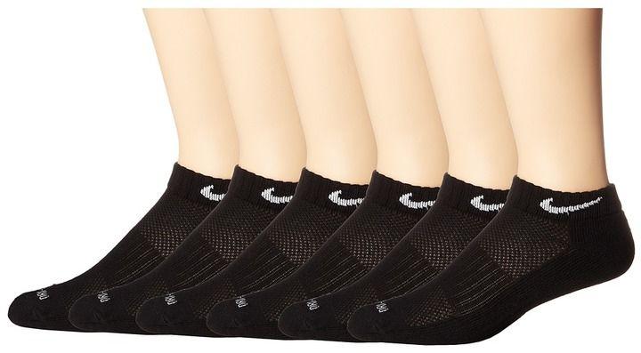 Nike Dri-Fit Low Cut 6-Pair Pack ) Low Cut Socks Shoes