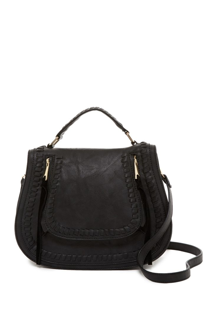Chile Vegan Leather Saddle Bag by Urban Expressions on @nordstrom_rack