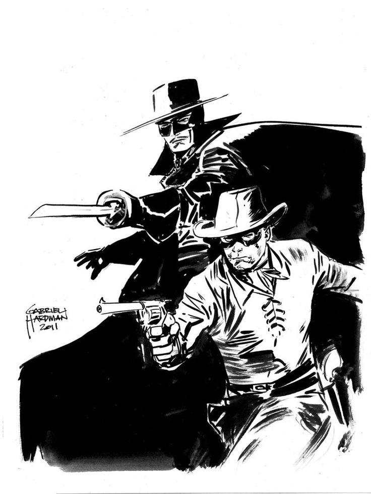 Zorro   Lone Ranger And Zorro Sketch By ~heathencomics On DeviantART   Comics Phreek Zorro ...