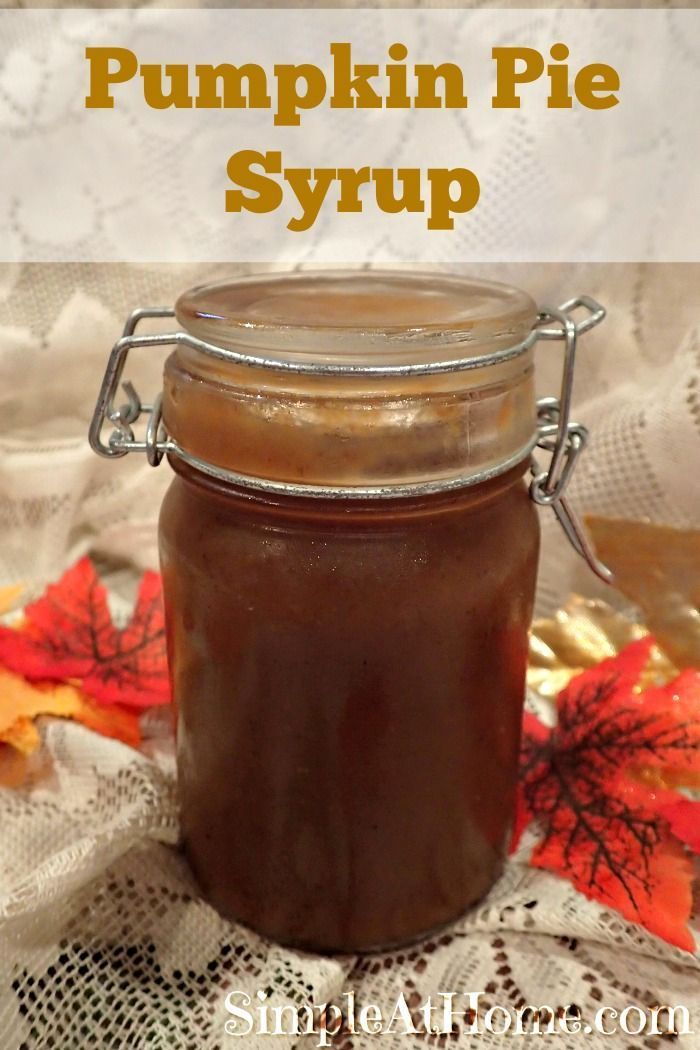 Unlike most pumpkin spice syrups, this one has enough pumpkin to leave you with the distinct flavor of fresh pumpkin pie. This easy syrup tops pancakes or can be used to make a pumpkin spice flavored coffee. Pumpkin is the iconic treat of fall and by having your own pumpkin pie spice syrup you can...Read More »