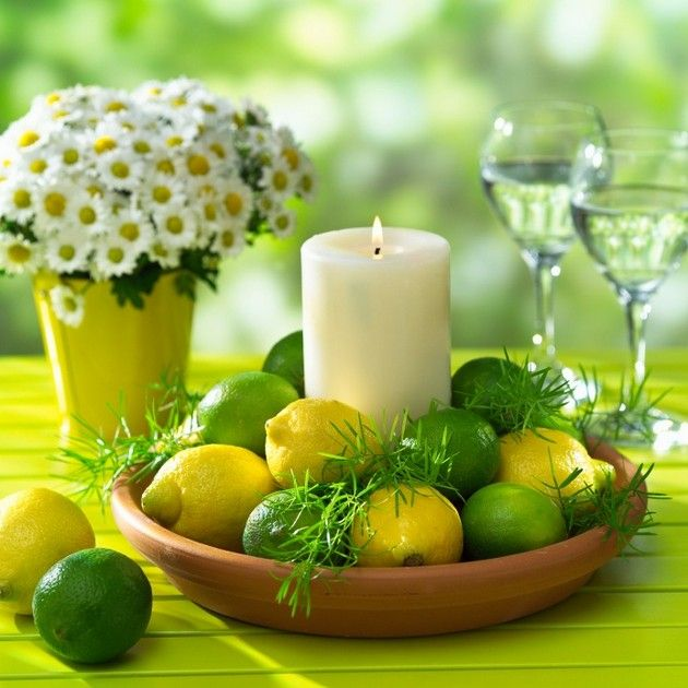 Summer Wedding Centerpiece Ideas: Inexpensive Centerpieces, Table Decorations, Candle
