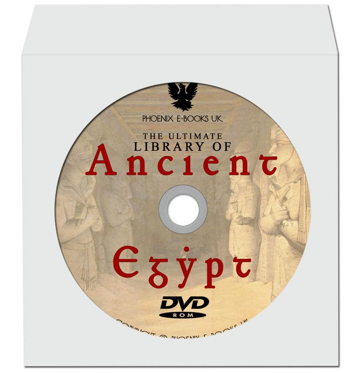 LIBRARY of Ancient EGYPT 353 Rare Vintage Books pdf on DVD-Rom + 203 Hi-Res Images Egyptology, Ancient History, Pyramids by PhoenixEbooksUK on Etsy