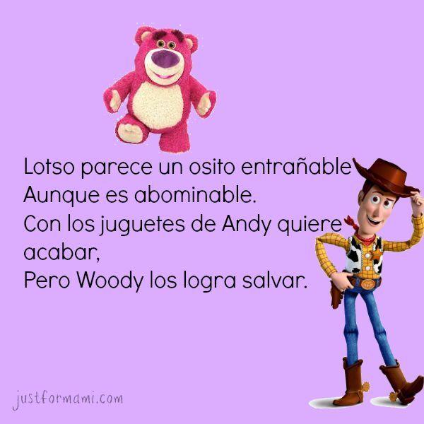Rimas para niños de Cuentos infantiles  rimasparaniños  rimasinfantiles   Cuentosinfantiles  rimas  toystory  woody  lotso  5d06309d226