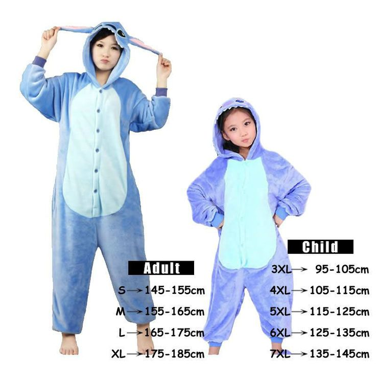 Want to cosplay as Stitch? - This is perfect for any Lilo and Stitch lovers! - While Supplies Last! Limit 10 Per Order Please allow 4-6 weeks for shipping Item Type: Onesie Material: Flannel Gender: U
