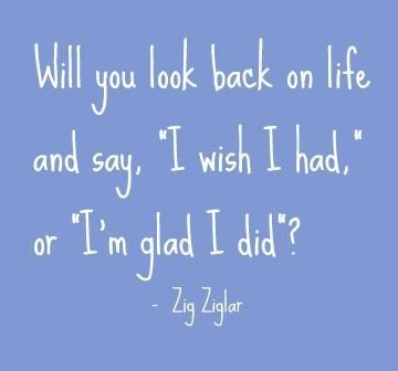 look back on life... quote