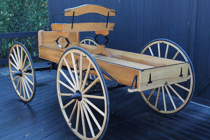 Buckboard | Spring | Wagon Kit | Horse Drawn Wagon Kit