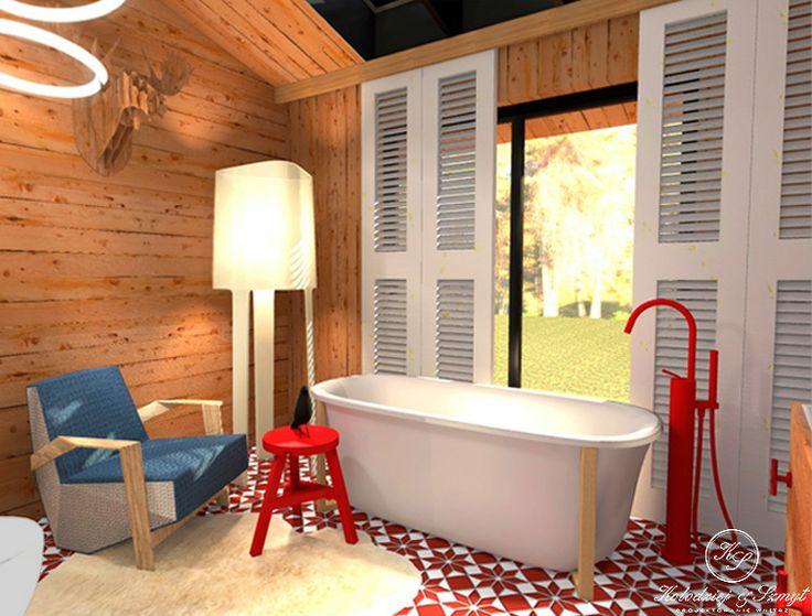 Modern country style bathroom by Kolodziej & Szmyt