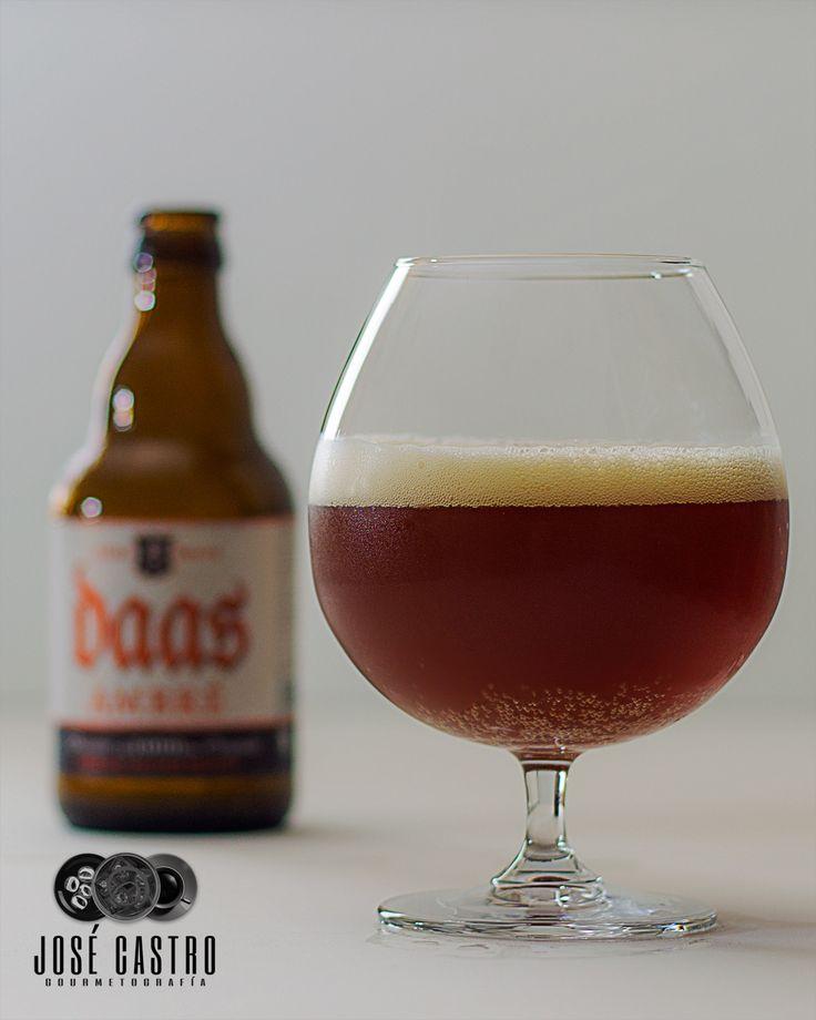 Daas Ambré, a Belgian pale ale by Brasserie De Brunehaut.