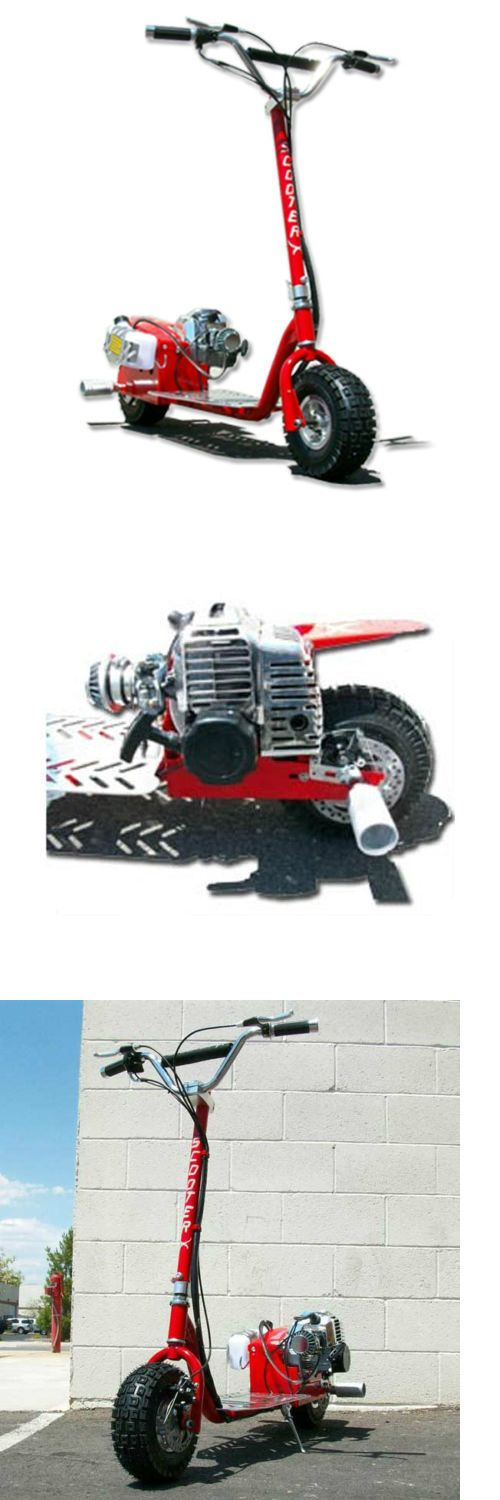 Gas Scooters 75211: Scooterx Red Racing Go Fast Motor Scooter 49Cc Gas Powered Big Power -> BUY IT NOW ONLY: $429 on eBay!