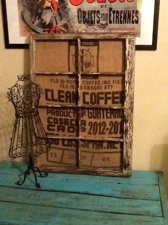 113 best images about household stuff on pinterest Burlap bag decorating ideas