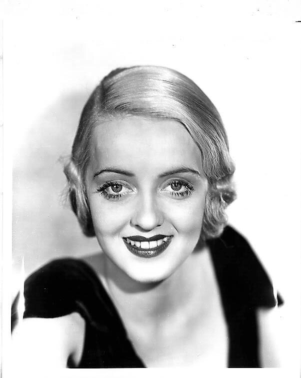 Beautiful, young Bette Davis